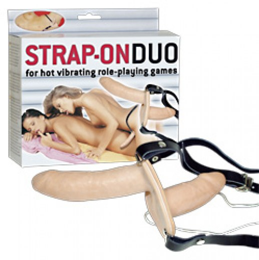 Strap-on duo!